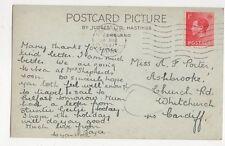 Miss A F Porter Ashbrooke Church Road Whitchurch Cardiff 1937 300a