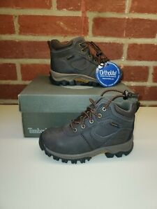 *Timberland MT Maddsen Mid Waterproof Boot Toddler's Size 10 Brown New in Box.