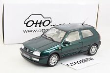 OTTO 1:18 scale Volkswagen VW Golf 3 VR6 Synchro Carat -GREEN *LE 1500pcs* OT544