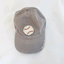 Life is Good Baseball Cap Grey Dad Hat Strapback Golf Tennis Hiking Size S
