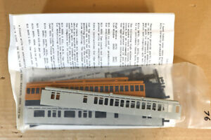 IAN KIRK 76 KIT BUILT SOUTHERN SR MAUNSELL 59' BRAKE COACH KIT nz