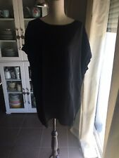 VENDS PULL MANCHES COURTES INTERDEE NOIR TAILLE 52/54