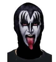 Faux Real Kiss Music The Demon Sublimated Adult Halloween Costume Mask F152421
