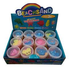 Box of 12 Large Space Moon play Sand, Mold-N-Play Kinetic Creative Kids Diy Gift