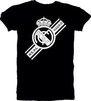 Real Madrid de Espana Spain Futbol Soccer T-SHIRT Camiseta Ronaldo Rodriguez