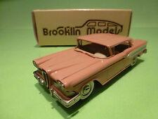 BROOKLIN MODELS BRK 22 EDSEL CITATION TWO-DOOR HARDTOP 1958 - 1:43 - NMIB