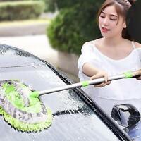 Brosse multifonctionnelle rétractable de lavage de brosse de lavage de voiture