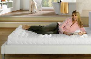 Matratzenschoner Matratzenschonbezug Matratzenbezug Schutz Premium 160 x 200 cm