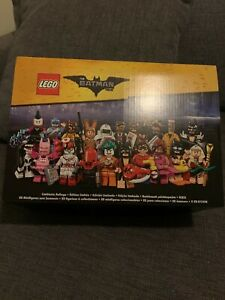 The LEGO Batman Movie Minifigure Series 1 - 71017 - FULL BOX Limited Edition