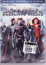 X-Men Conflitto Finale Dvd Edizione Speciale (2 Dischi) Sigillato
