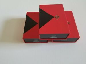 Gift box set -3 boxes with magnetic closure- Red color