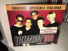 BACKSTREET BOYS EDIZIONE SPECIALE ITALIANA CD SIGILLATO CON SOVRACOPERTINA