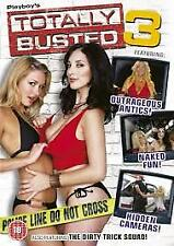 PLAYBOY TOTALLY BUSTED 3 R18+ DVD PAL NEW DISC ONLY