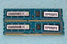 8GB Kit 2x 4GB DDR3 1600 PC3-12800 240 Pin NON-ECC Desktop Memory
