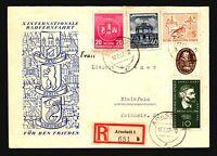 Germany DDR 1957 Arnstadt Registered Cover w/ Better (II) - Z17229