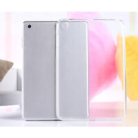 Tablet PC Silicone Case Transparent Protective TPU Back Cover For iPad