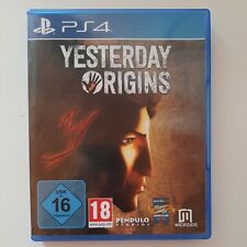 Yesterday Origins ( PlayStation 4 / PS4 )