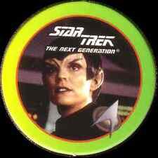 STAR TREK THE NEXT GENERATION, ROMULAN, STARTDISC POG MILK CAP, # 18