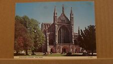 Postcard unposted Hampshire Winchester Cathedral west front