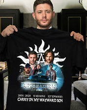 15 Years of SuperNatural shirt Anniversary Thank you for the memories T-Shirt