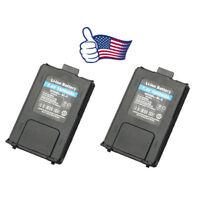 US 2x 7.4V 1800mAh Li-ion Battery for Baofeng UV-5RA UV-5RPlus Ham Two-way Radio