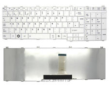 New Replacement TOSHIBA SATELLITE C660D-1HK Qwerty UK Laptop White keyboard
