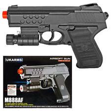 M888AF Spring Airsoft Hand Gun Pistol Light Laser Air W/ 1000 6mm BBS Combo