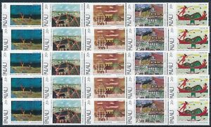 [PG10197] Palau Is. 1983 good sets (5) of stamps very fine MNH