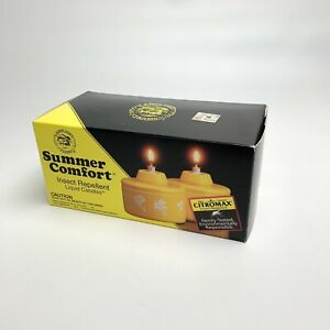 Lamplight Farms Yellow Citronella Insect Repellent Summer Flowers Vintage Garden