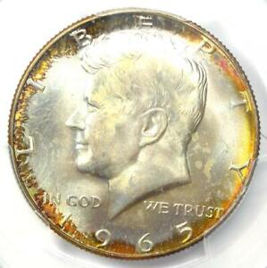 1965 Kennedy Half Dollar (50C Coin) - PCGS MS67 - Rare in MS67 - $2,750 Value!