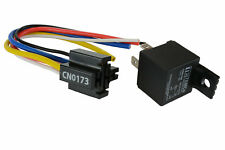 TEMCo 12V 30 Amp Bosch Style S Relay with Harness Socket SPDT Automotive