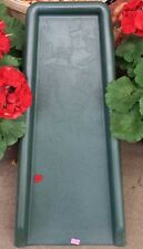 "(2) New Decorative Green Splash Block ""Maple Leaf"" Pattern Downspout - 19581"