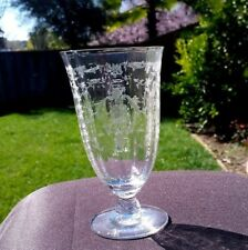 Crystal Fostoria Navarre Iced Tea 7 5/8 Inch