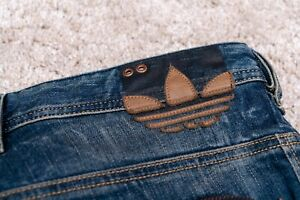 Adidas & Diesel Herren Jeans Limited Edition W29L32 Gr. 170/ 74A, made in Italy