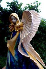 Ángel de cerámica arte Colgante Hecho A Mano Artesanal Hermosos Colores Granja Shop 06-04