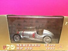 BRUMM SUPERBE MERCEDES BENZ W125 HP646 1937 1/43 NEUF BOITE F4