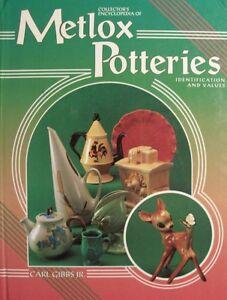 VINTAGE METLOX ART POTTERY PRICE VALUE GUIDE COLLECTORS BOOK