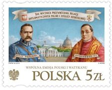 Poland / Polen 2019 - Fi 4950** Diplomatic relations between Poland and Holy See