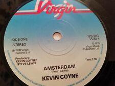 "KEVIN COYNE * AMSTERDAM * 7"" BLUES ROCK SINGLE EXCELLENT 1978"
