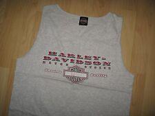 Harley Davidson Tank Top - Motorcycle Daytona Beach Florida USA 2002 T Shirt Lrg