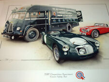 BMC COMPETITIONS DEPARTMENT MGA LE MANS 1955 1965 AUSTIN HEALEY 3000 PAT MOSS