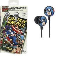 New Captain America Headphones Retro Vintage Print iHip  NIP LIMITED