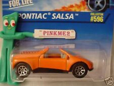 1996 Hot Wheels PONTIAC SALSA #596 ∞ orange with variant  7sp ∞