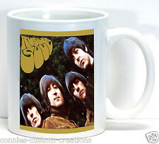 The Beatles Rubber Soul Album Cover Coffee Cup Ceramic Collectible Fan Mug Gift