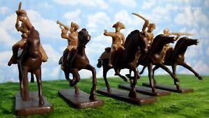 Armies in Plastic American Revolution American Militia Cavalry 1/32 Scale 54mm