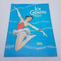 1958 Ice Capades Nineteenth Edition Program Vintage