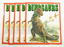 Lot of (5) Baio / Panini Dinosaurs Collectible Sticker Albums ^ No Stickers