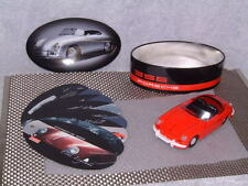RARE TIPPCO W. GERMANY TIN PORSCHE 356 W/FRICTION DRIVE IN ORIGINAL TIN CASE!!