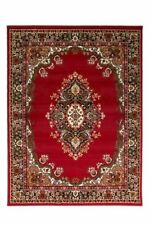 Flair Rugs Element Lancaster Traditional Rug Red 180 X 250 Cm