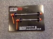 One 23 Titanium Road QR Skewers Orange